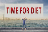 Time for diet — Stock Photo