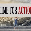 Постер, плакат: Time for action