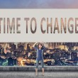 Time to change — Stock Photo #76498765