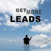 Get More Leads — Stock Photo