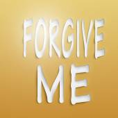 Forgive me — Stock Photo