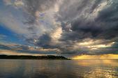 Lake landscape — Stock Photo