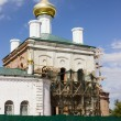 Restoration of the church, beheaded during the Soviet period — Stock Photo #51826623