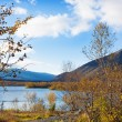 Small lake in the mountains. The North Of Russia — Stock Photo #54063357