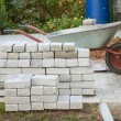 Small pile of paving stones — Stock Photo #54231317