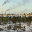 Industrial landscape. Industry in northern Russia — Foto Stock #57084663