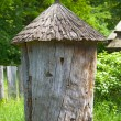 Ancient wooden beehive — Stock Photo #61060457
