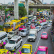 Traffic jams bangkok — Stock Photo #67912965