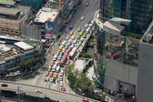 Thailand Street, view from a great height — Stock Photo