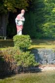 Statue Tutzing — Stock Photo