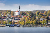 Starnberg at autumn — Stock Photo