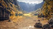 Obersee bavyera almanya — Stok fotoğraf