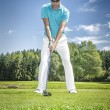 Golf player — Stock Photo #56526585
