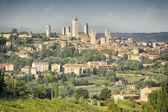 San Gimignano Italy — Stock Photo