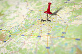 Map Berlin — Stock Photo