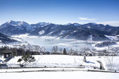 Schliersee at winter in Bavaria Germany — Foto de Stock