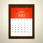 Calendar for event planning — Stock Photo
