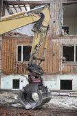Excavator Close up — Stock Photo