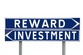 Reward or Investment — Stock Photo