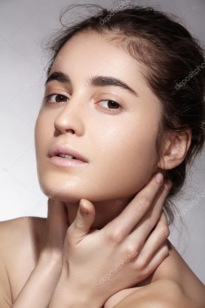 Beautiful Woman Face Model