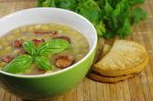 Appetizing pea soup  — Stock fotografie