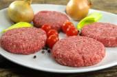 Raw minced beef meat  — Stock Photo