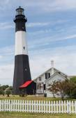 Tybee Lighthouse Vertical — Stock Photo