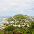 Coast of St Martin and Sugar Factory — Stock Photo #55144709