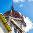 Old Brown Domed Church in Martinique — Stock Photo #55358065