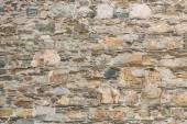 Old Stone and Mortar Wall for Background — Stock Photo