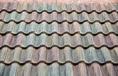 Cement Tile Roof — Стоковое фото