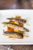 Broiled Sardines — Stock Photo