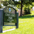 Sign for Confluence Park — Stock Photo #67228341