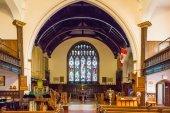 Inside Church in St John — Stock Photo