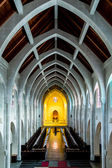 Stone Arches in Chapel — Stock Photo