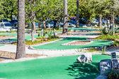 Miniature Golf Course in Tropics — Stock Photo