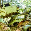 Pile of German Cars — Stock Photo #75811463