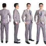 Full body Asian businessman — Stock Photo #52328163