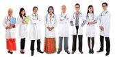 Multiracial Asian doctors — Stock Photo