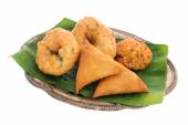 Traditional Indian snack starter — Stock Photo