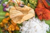 Indian mixed rice close up — Stock Photo
