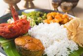 Close up Indian mixed rice — Stock Photo