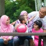 Muslim family — Stock Photo #57117315