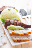 Delicious Chinese roasted pork  — Stock Photo