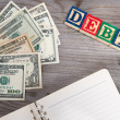 Dollars and debt word. — Stock Photo #67801911