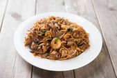 Fried Char Kuey Teow — Stock Photo