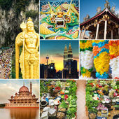 Malaysia attractions  view — Stock Photo