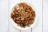 Chinese dish Char Kuey Teow — Stock Photo