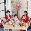 Chinese New Year Family Reunion Dinner — Stock Photo #78977584