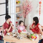 Chinese New Year Reunion Dinner — Stock Photo #78980924
